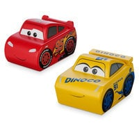 Lightning McQueen and Cruz Ramirez Wooden Collectibles - Limited Edition