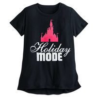 Walt Disney World Holiday Mode T-Shirt - Disney Boutique - Women