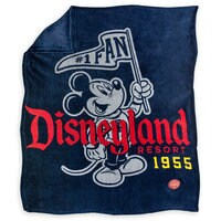 Image of Mickey Mouse Disneyland Throw Blanket # 1