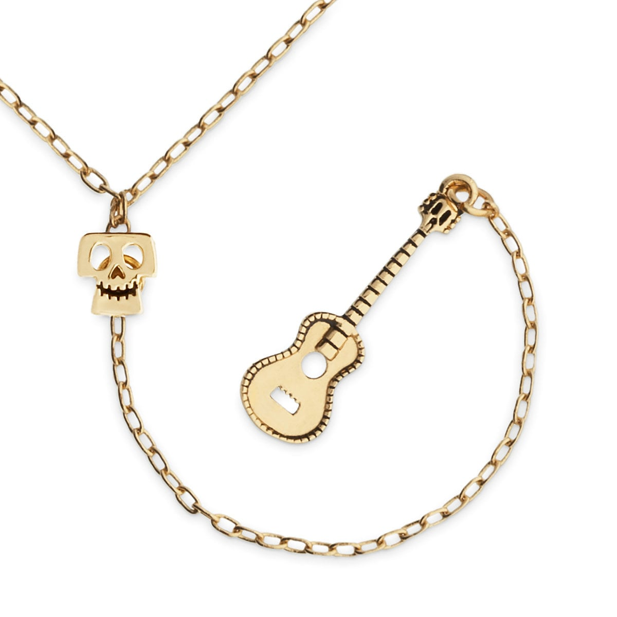index guitar gold white signature necklace jermaine jackson