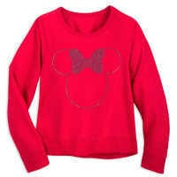 Image of Minnie Mouse Rhinestone Top for Women # 1