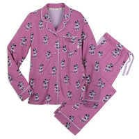 Image of Minnie Mouse Pajama Set for Women by Munki Munki # 1