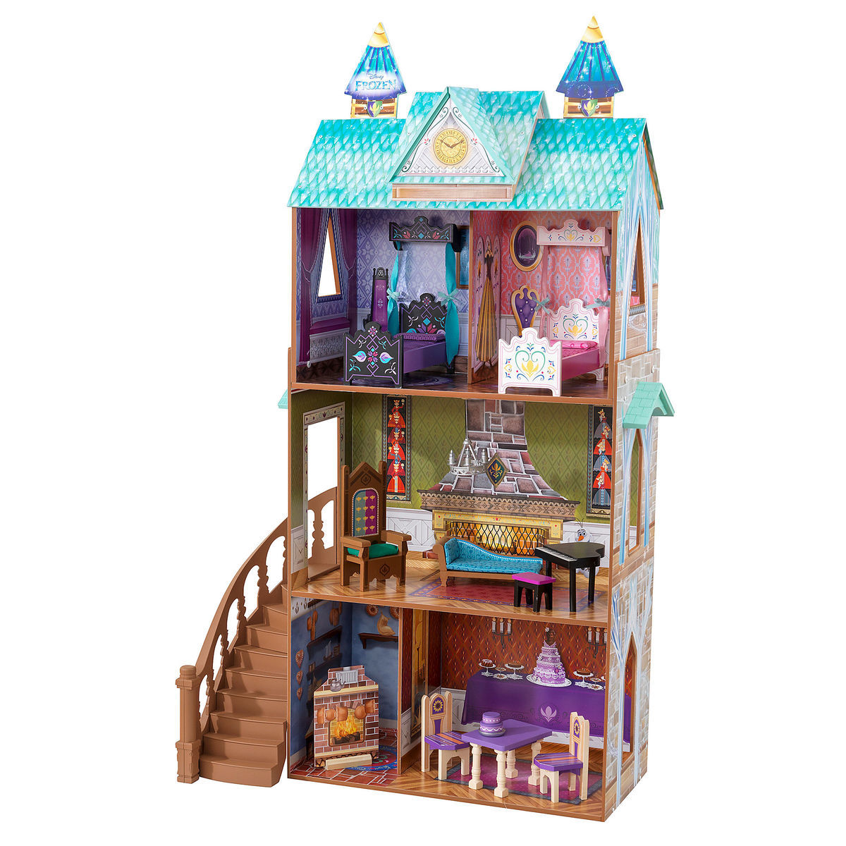 Product Image Of Frozen Arendelle Palace Dollhouse By KidKraft 1