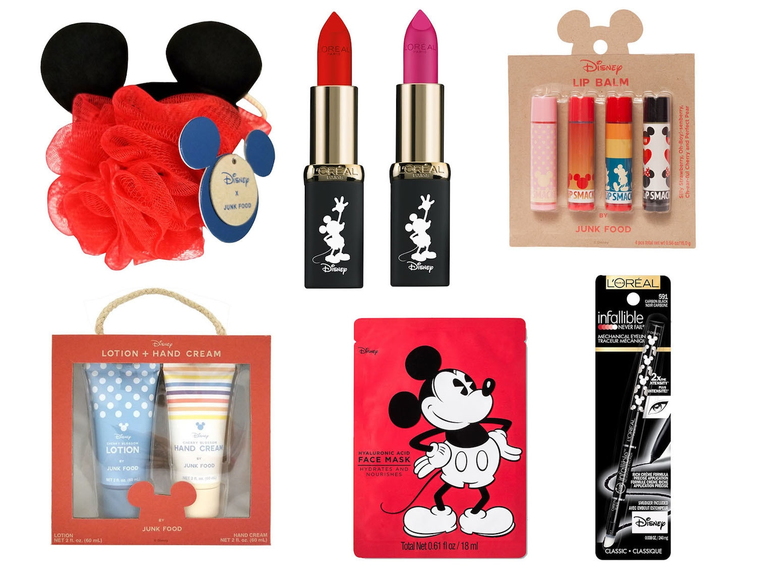 Beauty items from the Mickey Mouse Summer Collection