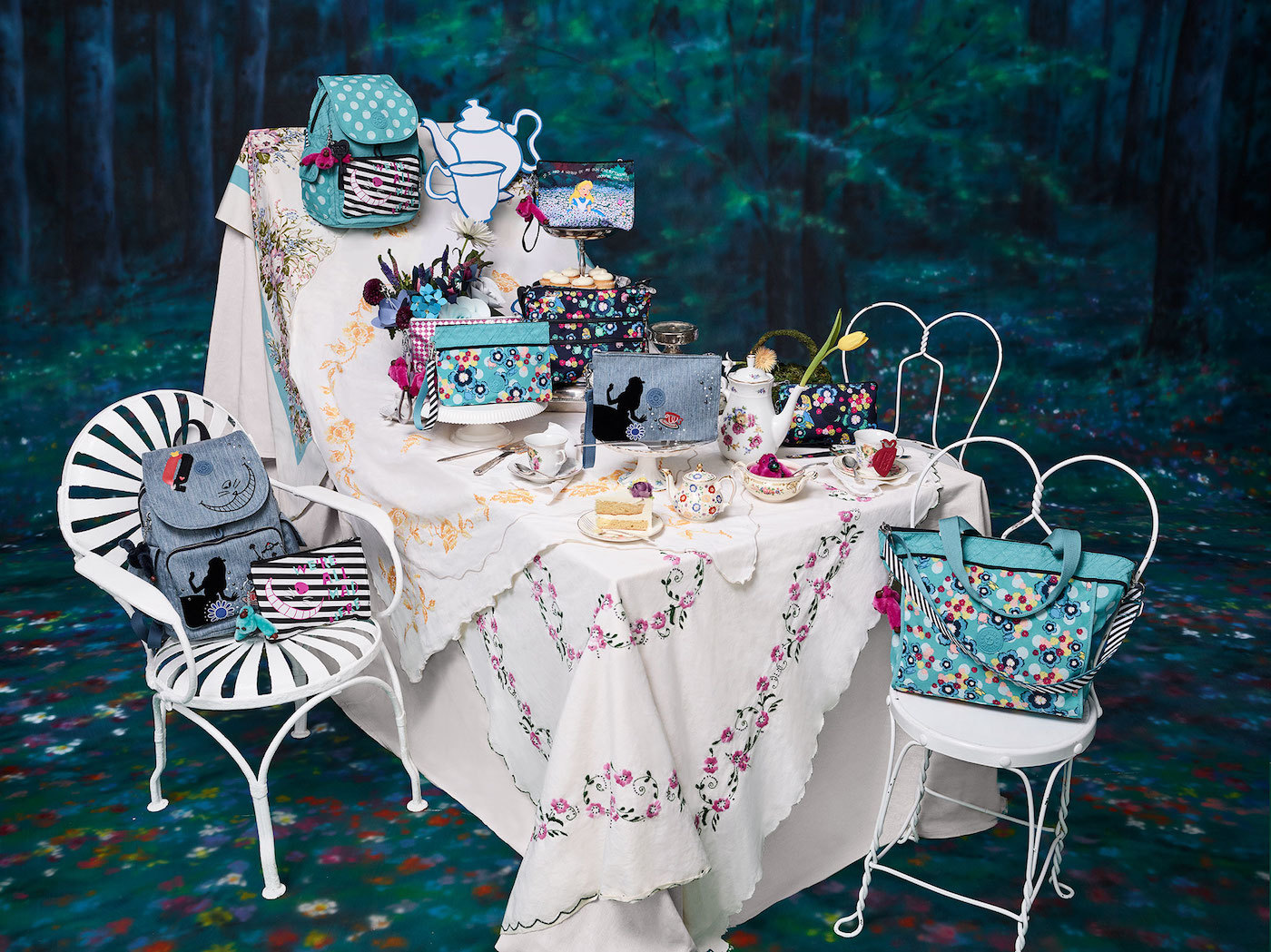 Fashion Items from Kipling's Alice in Wonderland Collection
