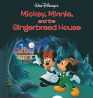 Mickey, Minnie, and the Gingerbread House