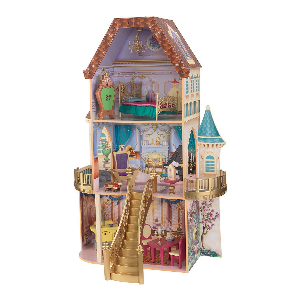 Product Image Of Belle Enchanted Dollhouse By KidKraft 1