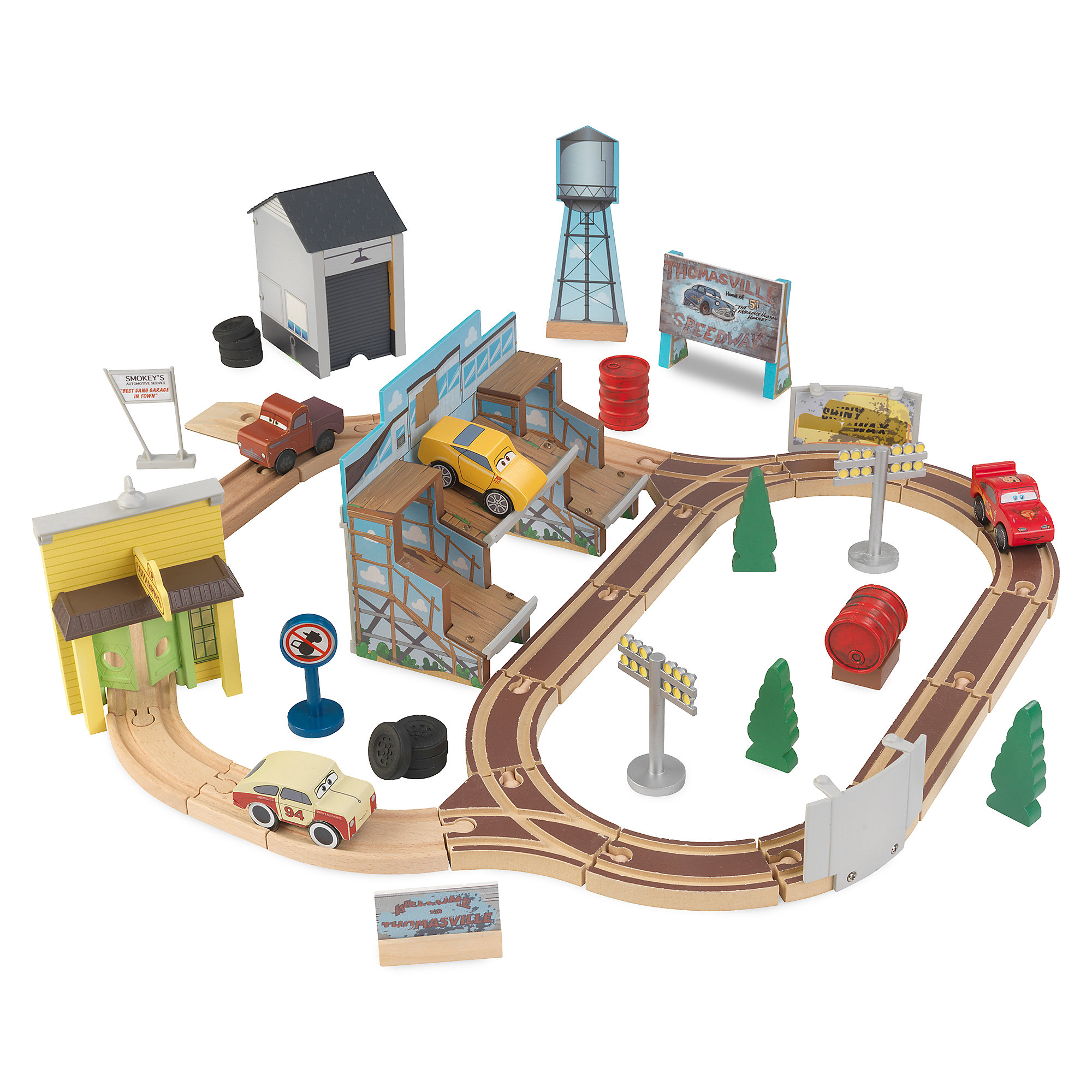 Cars 3 Thomasville Track Set by KidKraft