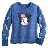 Minnie Mouse Emoji Pullover Top - Aulani, A Disney Resort & Spa - Women