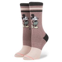 Mickey Mouse Vintage Socks for Adults by Stance