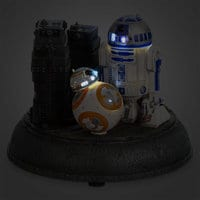 Image of R2-D2 and BB-8 Astromech Droids Figurine - Star Wars: The Force Awakens # 2