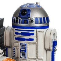 R2-D2 and BB-8 Astromech Droids Figurine - Star Wars: The Force Awakens
