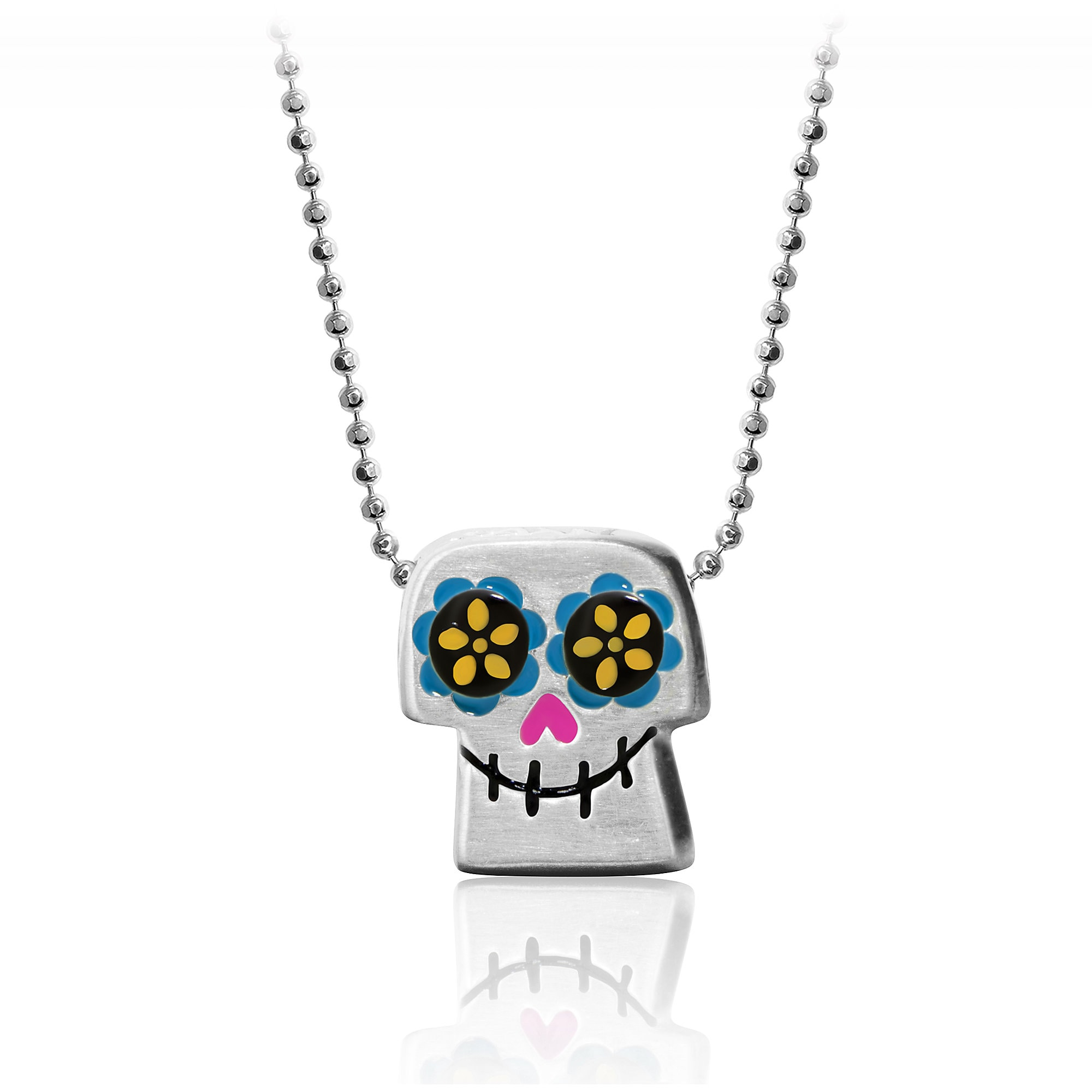 Coco Skull Necklace by Alex Woo