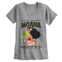 Image of Moana V-Neck T-Shirt for Women # 1
