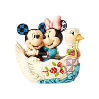 Image of Mickey and Minnie Mouse ''Love Birds'' Figure by Jim Shore # 1