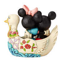 Image of Mickey and Minnie Mouse ''Love Birds'' Figure by Jim Shore # 2