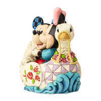 Image of Mickey and Minnie Mouse ''Love Birds'' Figure by Jim Shore # 4