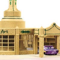 Image of Cars: Ramone's House of Body Art Playset # 5