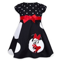 Image of Minnie Mouse Swing Dress for Girls # 1