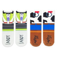 Buzz Lightyear and Woody Socks for Kids - 2-Pack