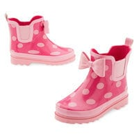 Minnie Mouse Rain Bootie for Kids