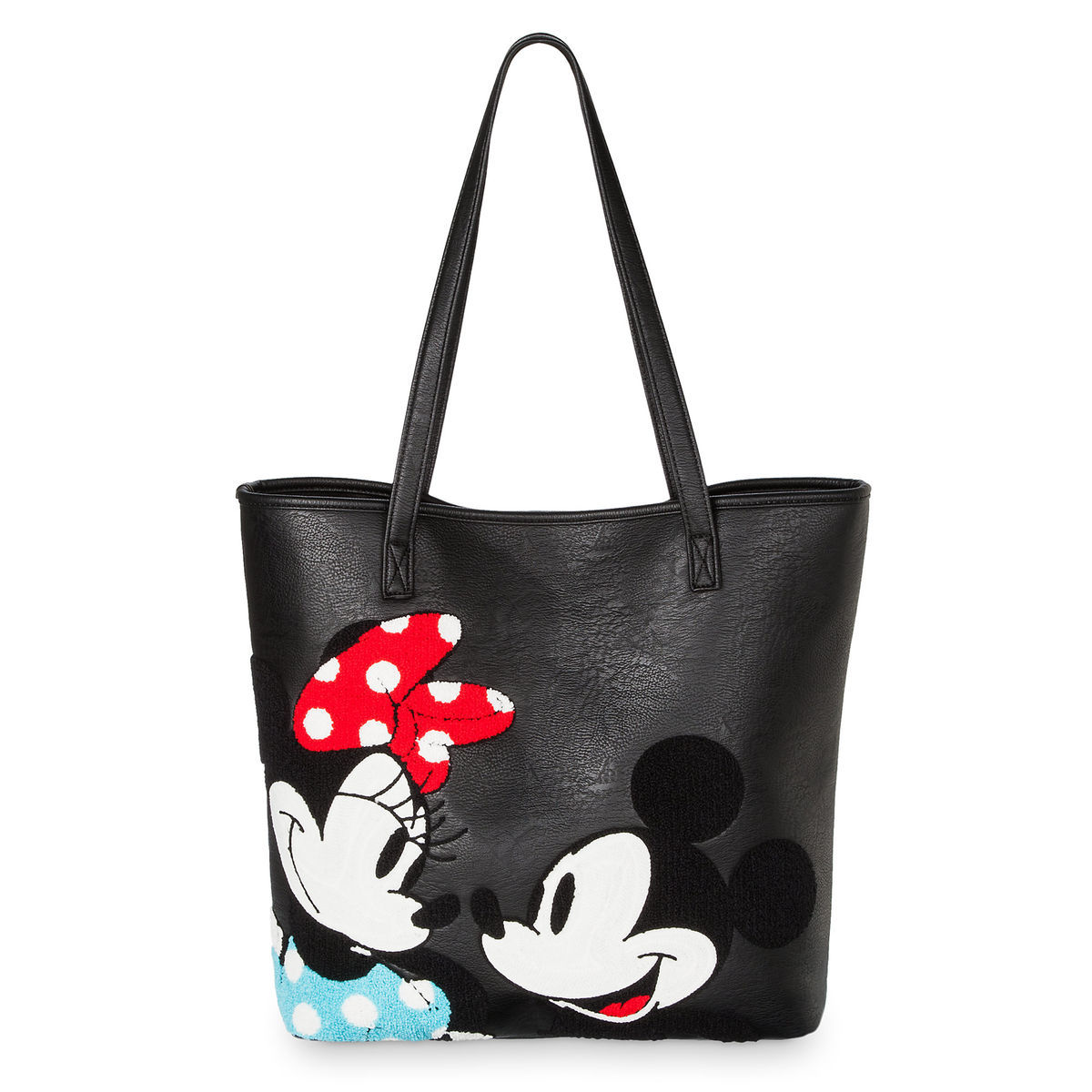 Product Image Of Mickey And Minnie Mouse Tote Bag By Loungefly 1