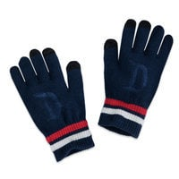 Image of Disneyland Collegiate Touchscreen Gloves for Adults # 1