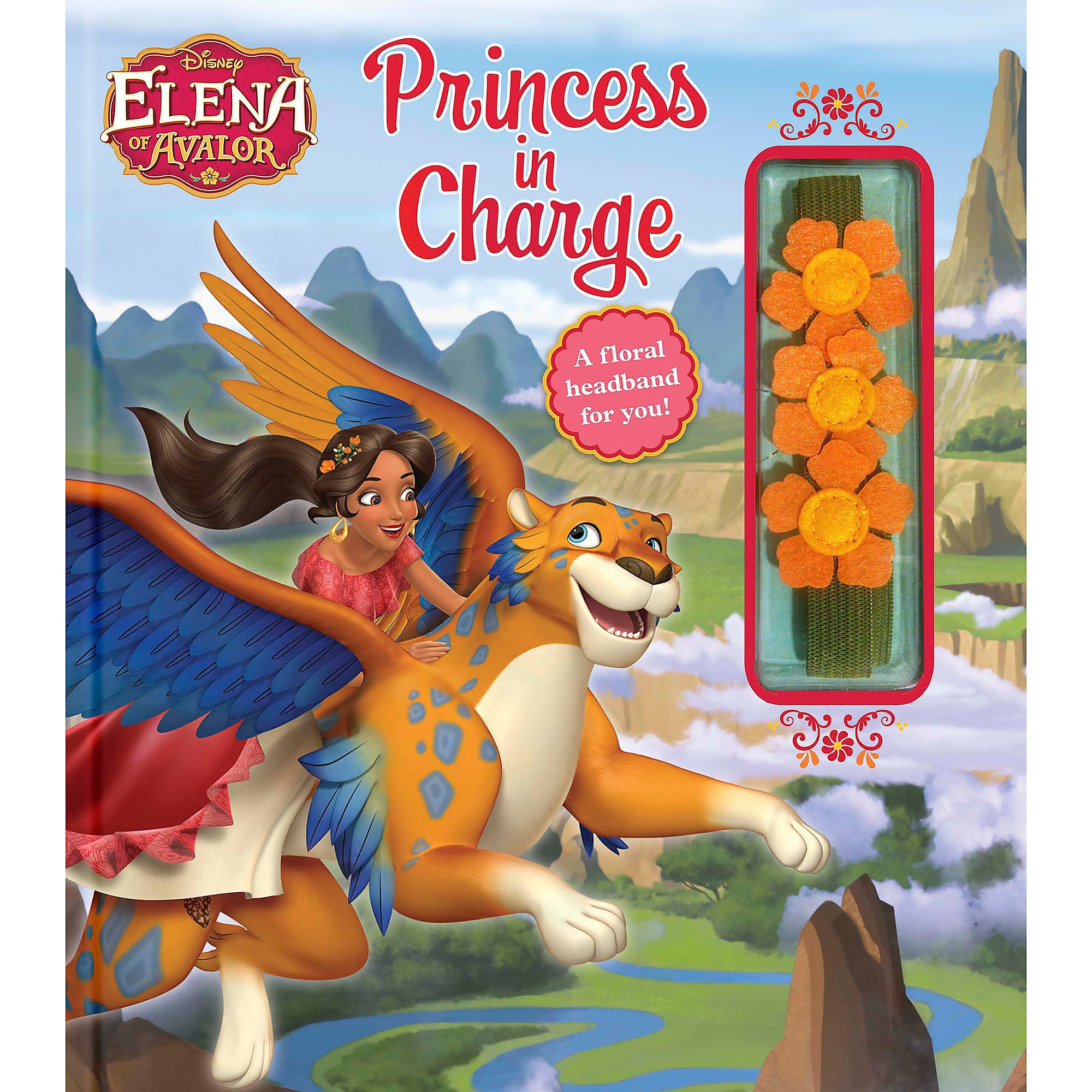 Elena of Avalor: Princess in Charge Book
