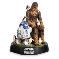 Image of Chewbacca, R2-D2 & Porgs Limited Edition Figurine - Star Wars: The Last Jedi # 1