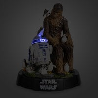 Image of Chewbacca, R2-D2 & Porgs Limited Edition Figurine - Star Wars: The Last Jedi # 2