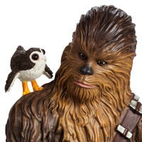 Image of Chewbacca, R2-D2 & Porgs Limited Edition Figurine - Star Wars: The Last Jedi # 7