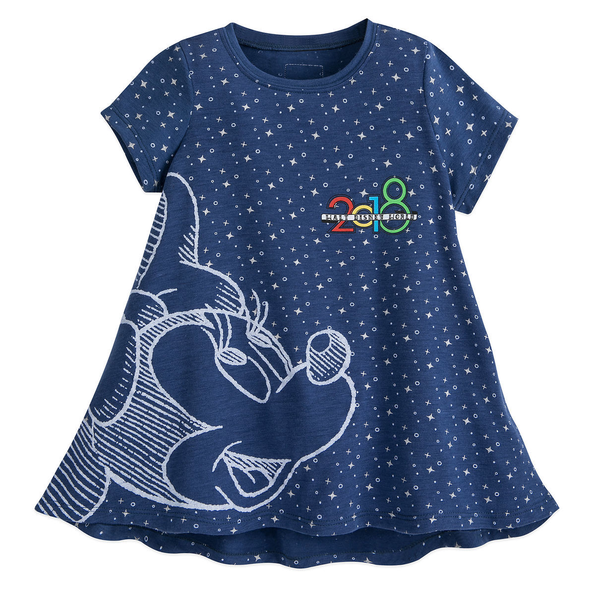 f76f61dae99 Product Image of Minnie Mouse Fashion T-Shirt for Girls - Walt Disney World  2018