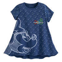 Image of Minnie Mouse Fashion T-Shirt for Girls - Walt Disney World 2018 - Blue # 1