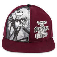 Image of Tim Burton's The Nightmare Before Christmas Baseball Cap - Adults # 1