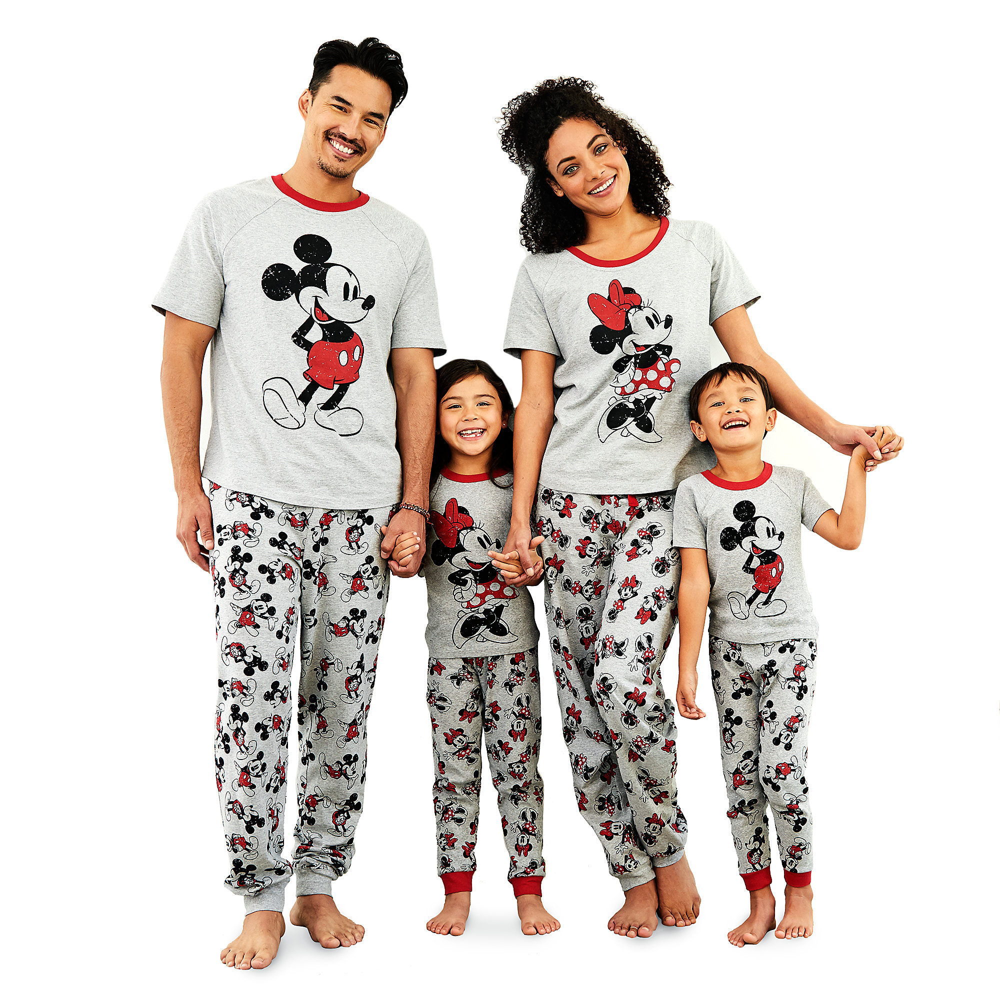 Mickey and Minnie Mouse Family Sleepwear Collection
