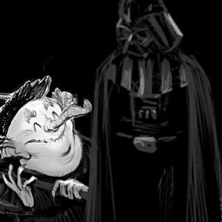 Adam Rex on Are You Scared, Darth Vader? and His Own Star Wars Crafts
