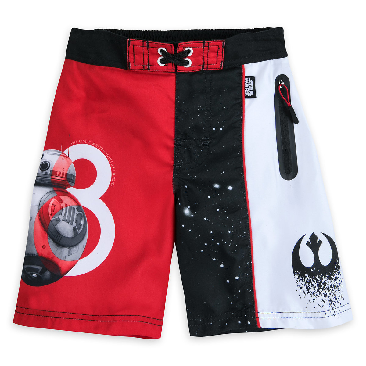 cc86ad1a16 Product Image of Star Wars: The Last Jedi Swim Trunks for Boys # 1