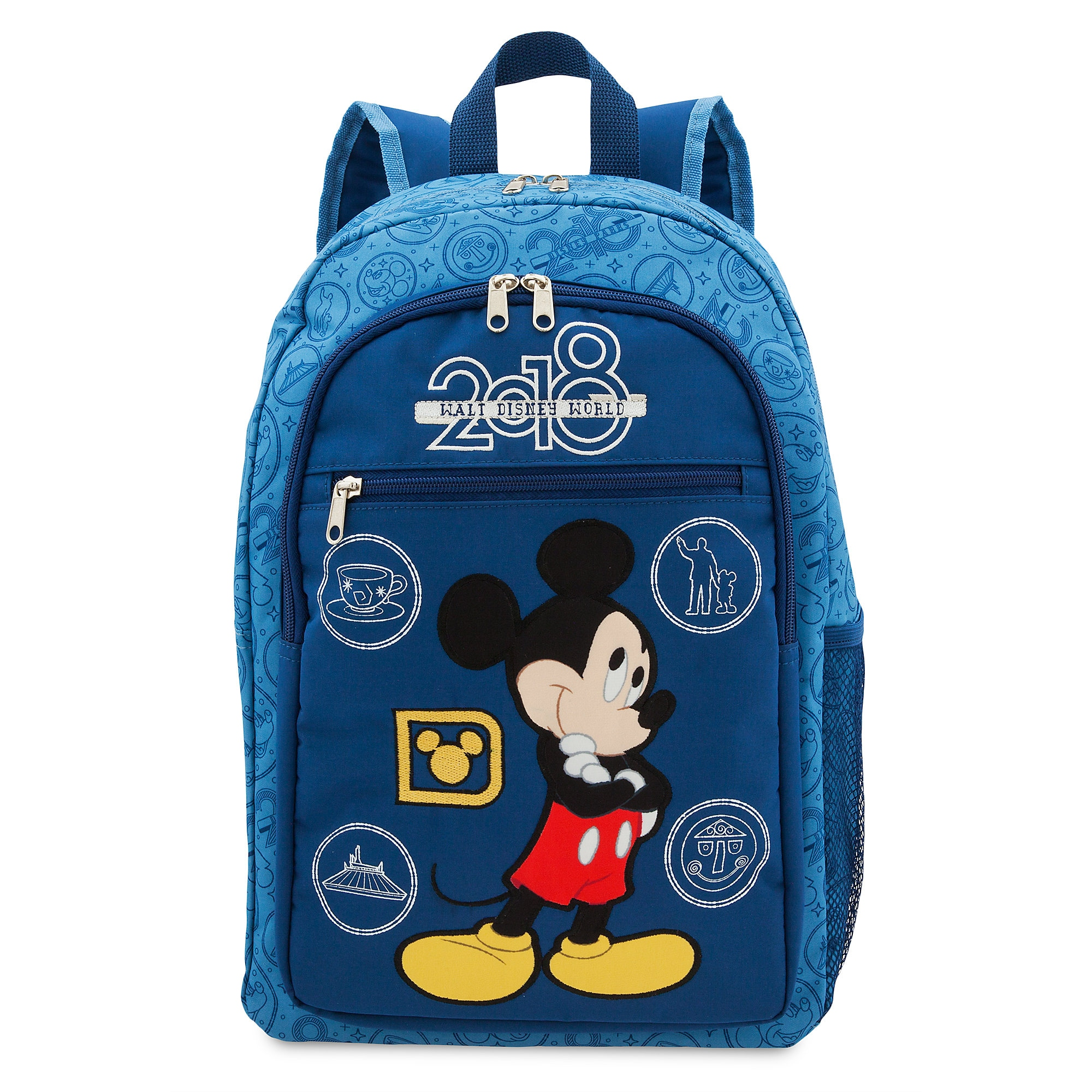 Mickey Mouse Backpack - Walt Disney World 2018  30659704f010b