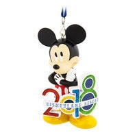 Mickey Mouse Figural Ornament 2018 - Disneyland