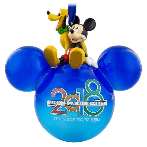 Mickey Mouse and Pluto Icon Ornament 2018 - Disneyland