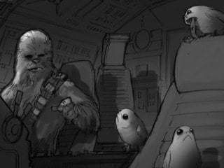 Designing Star Wars: The Last Jedi, Part 1: How Porgs Were Hatched
