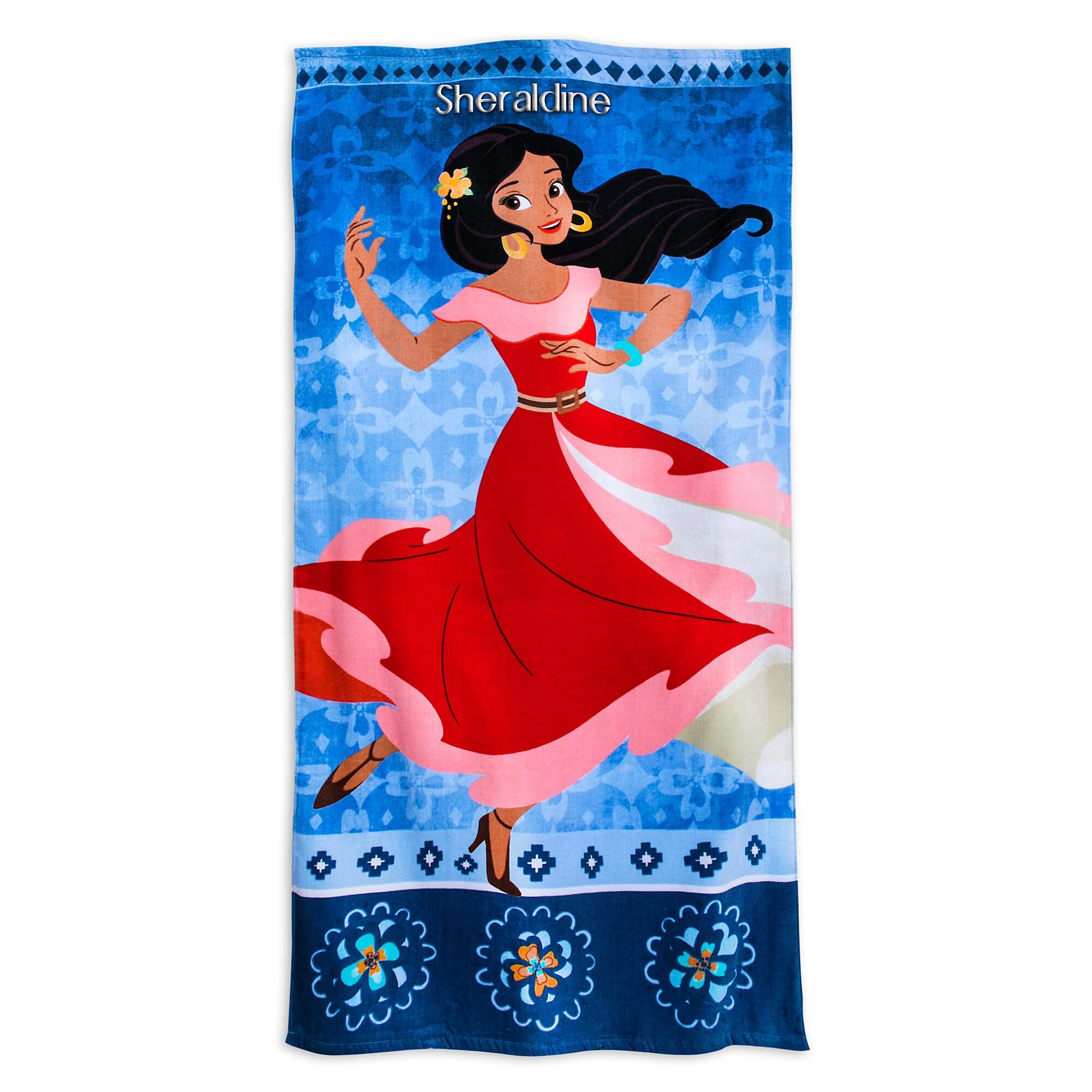 Elena of Avalor Beach Towel - Personalizable