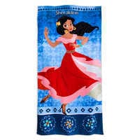 Image of Elena of Avalor Beach Towel - Personalizable # 1