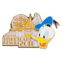 Donald Duck Pin - Disneyland 2018