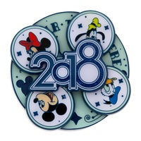 Image of Mickey Mouse and Friends Spinner Pin - Disney Parks 2018 # 4