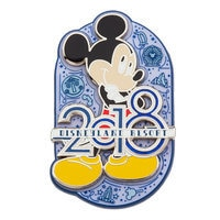 Mickey Mouse Pin - Disneyland 2018