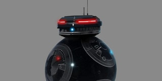Designing Star Wars: The Last Jedi, Part 3: Developing BB-9E, a Droid Fit for the First Order