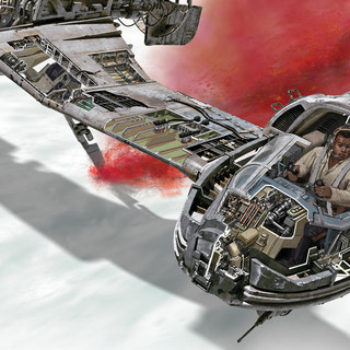 Step Inside the Galaxy's Newest Ships and Vehicles with Star Wars: The Last Jedi – Incredible Cross-Sections – Exclusive Interview