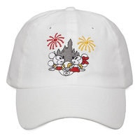 Mickey and Minnie Mouse Castle Baseball Cap for Adults