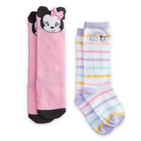 Minnie Mouse Socks for Baby - 2-Pack